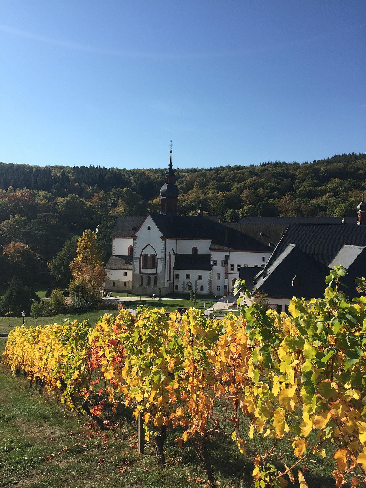 Kloster Eberbach Im Herbst