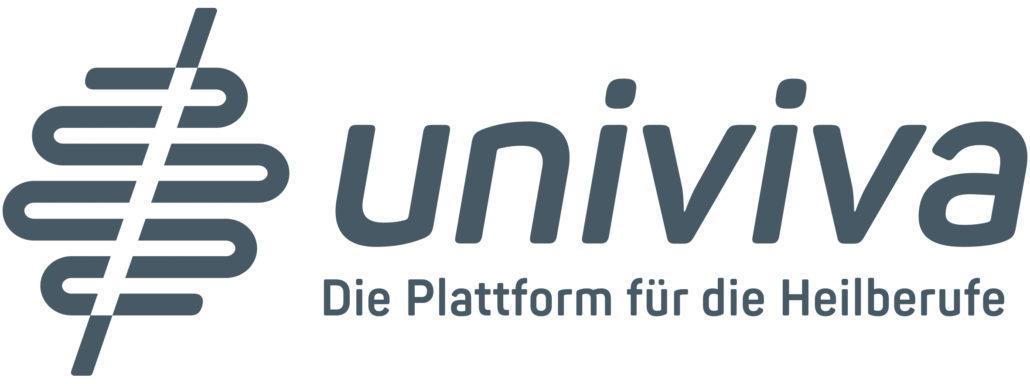 Logo Univiva Claim Grau 4c