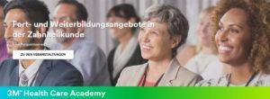 Das Online-Portal der 3M Health Care Academy lädt dazu ein, Fachkenntnisse aufzufrischen und den eigenen Horizont zu erweitern.