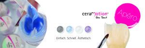 Die ceraMotion® Apéros informieren u. a. über die neuen Pastenkeramiken von Dentaurum.