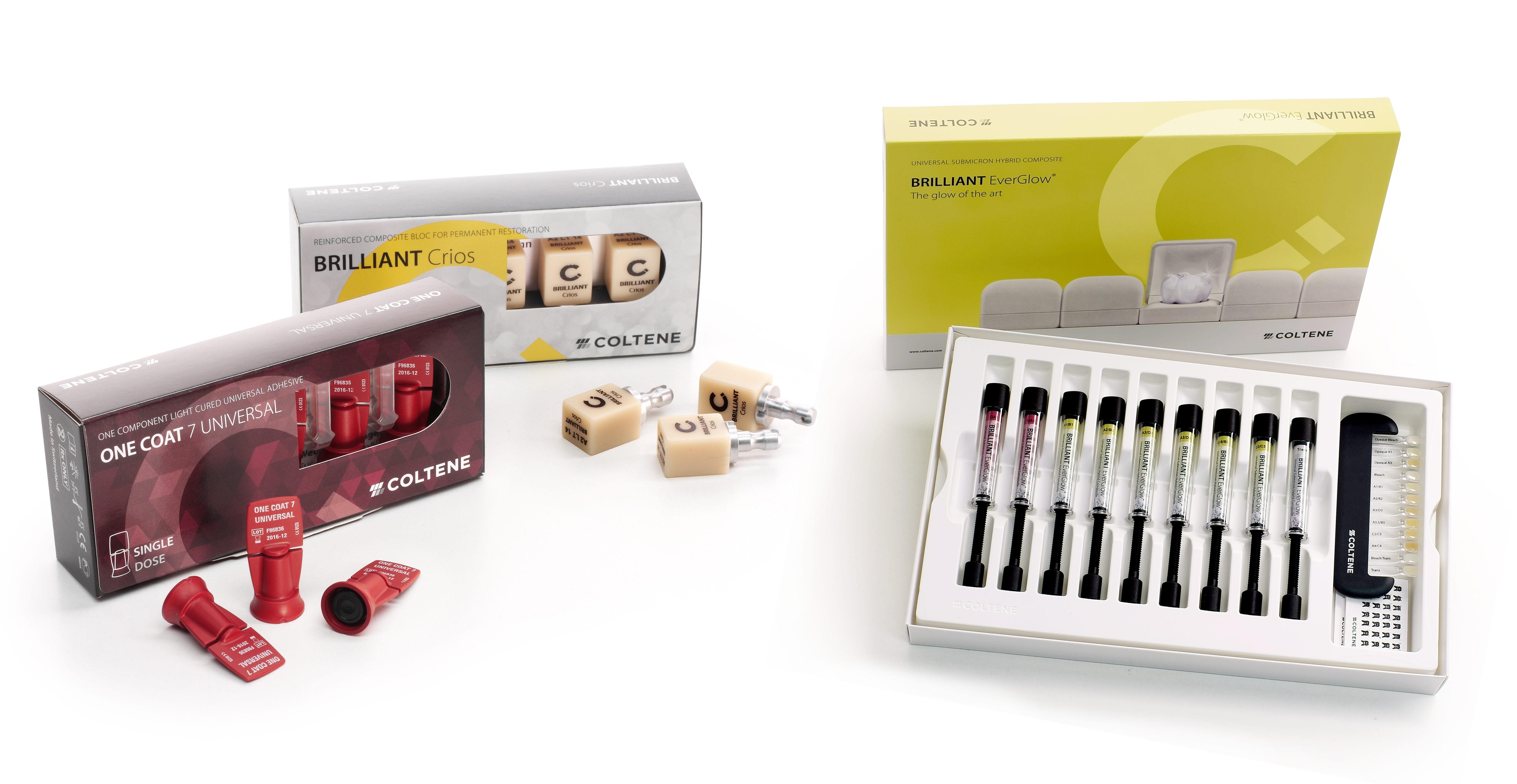 COLTENE BRILLIANT Produkte für brillante Ergebnisse
