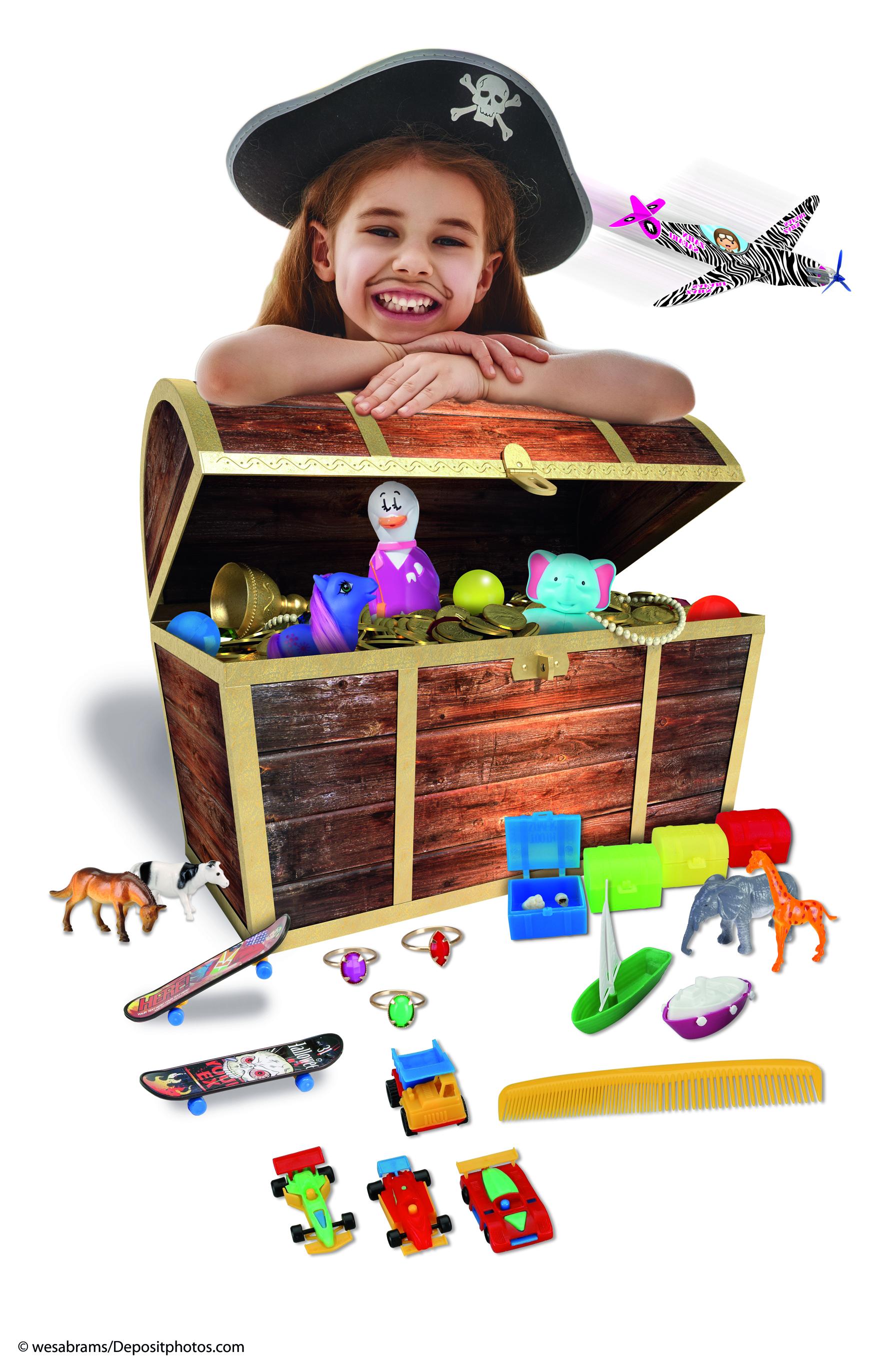 Das Miratoi® Spielzeugsortiment – für jeden tapferen Helden die passende Belohnung.