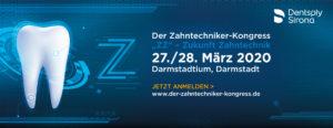 """Der Zahntechniker-Kongress von Dentsply Sirona findet am 27./28. März 2020 in Darmstadt unter dem Motto """"Zukunft Zahntechnik"""" statt."""
