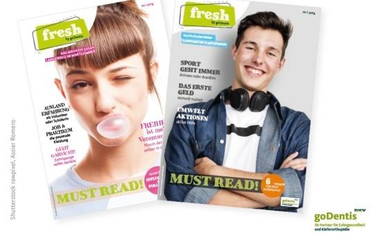Zahnärzte können Teenager ab sofort mit eigenem Magazin ansprechen.