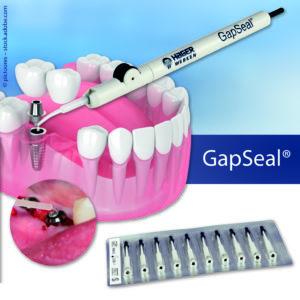 GapSeal® – Der entscheidende Beitrag gegen Periimplantitis.