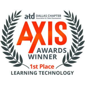 Logo für Gewinner der AXIS Awards.
