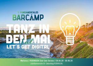 Vom 29. April bis zum 3. Mai 2020 findet das 1. FUNDAMENTALE BarCamp auf Mallorca statt!