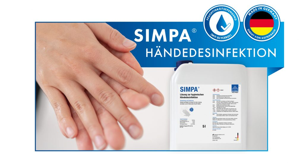 SIMPA® Händedesinfektion von Kettenbach