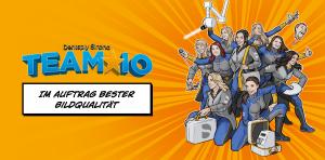 Die Intraoralröntgen-Spezialistinnen von Dentsply Sirona im Superheldinnen-Gewand: Team IO ist ab dem 1. Juli unterwegs, um Praxen in Deutschland und Österreich in Bezug aufs Intraoralröntgen zu unterstützen.