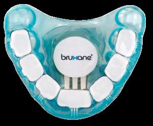 bruXane personal ist eine individuell für den Patienten hergestellte Aufbissschiene mit einem Vibrationsmodul und Microcontroller.
