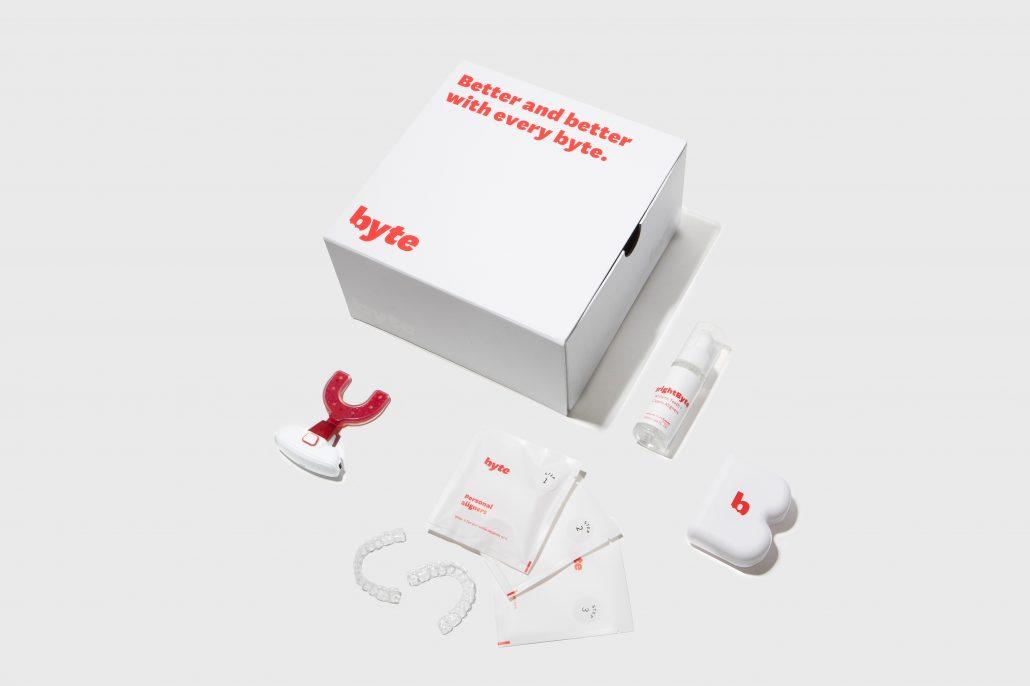 Byte bietet ein bequemes Clear Aligner System, das von einem Netzwerk von Zahnärzten und Kieferorthopäden unterstützt wird, die die Behandlungspläne zusammenstellen und begleiten.
