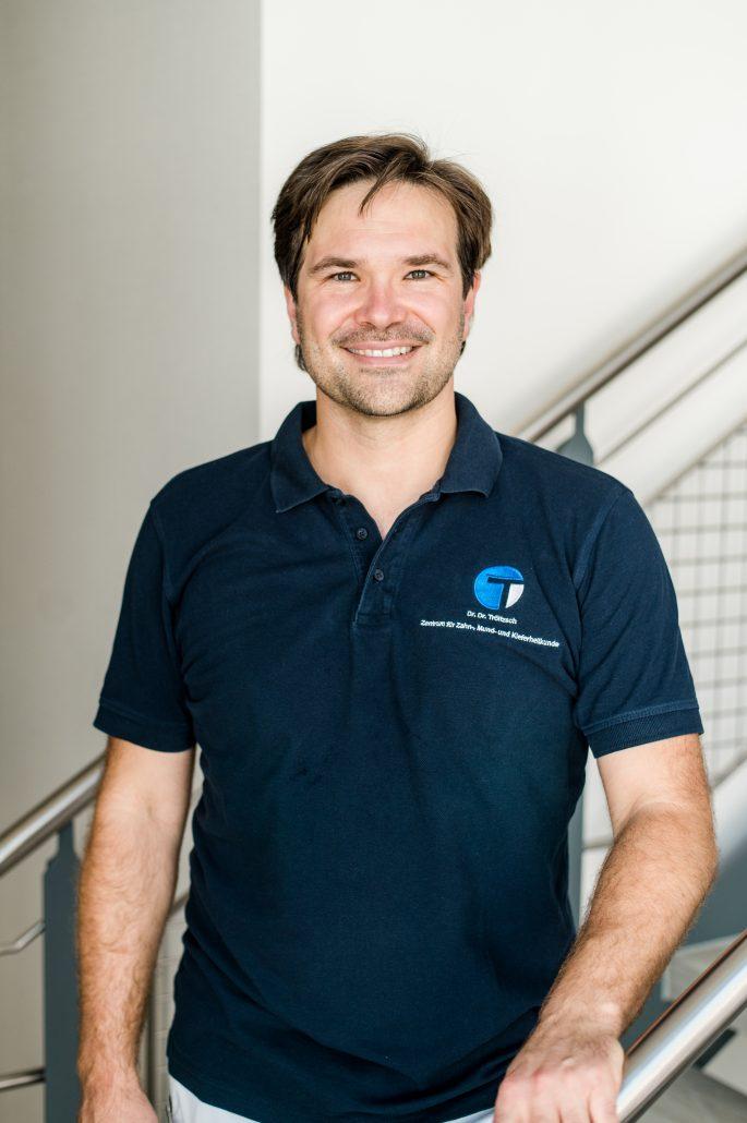 """Dr. Dr. Markus Tröltzsch moderiert das """"BEGO Podium"""" - die neue Online-Seminarreihe von BEGO Implant Systems aus Bremen."""