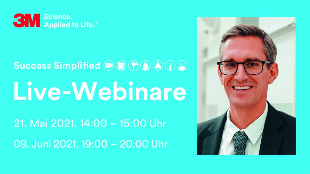 Jetzt anmelden für die Live-Webinare mit PD Dr. Sven Mühlemann!
