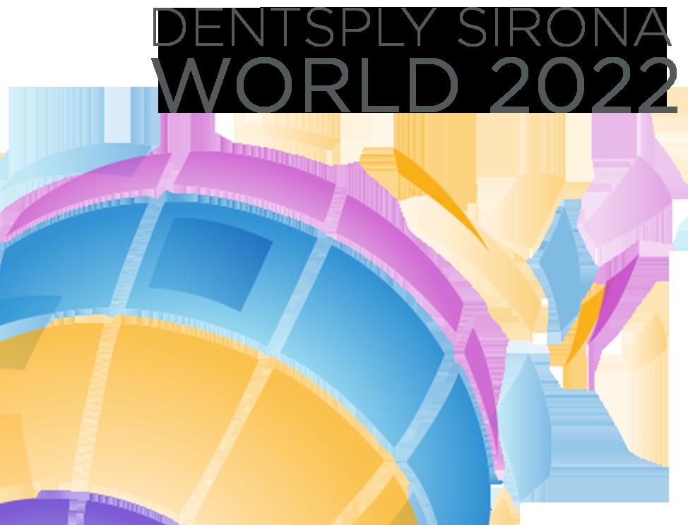Das Logo der Dentsply Sirona World 2022