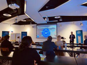 Das initiale Kick Off Meeting wird genutzt, um das unterstützende Expertenteam kennenzulernen und alle Details über den Programmablauf zu erfahren.