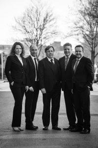 Der Vorstand der ZA eG (vlnr): Dr. Sarah Schrey, Dr. Andreas Janke, Wolfgang Balmes, Dr. Christoph Hassink, Tobias Wagner