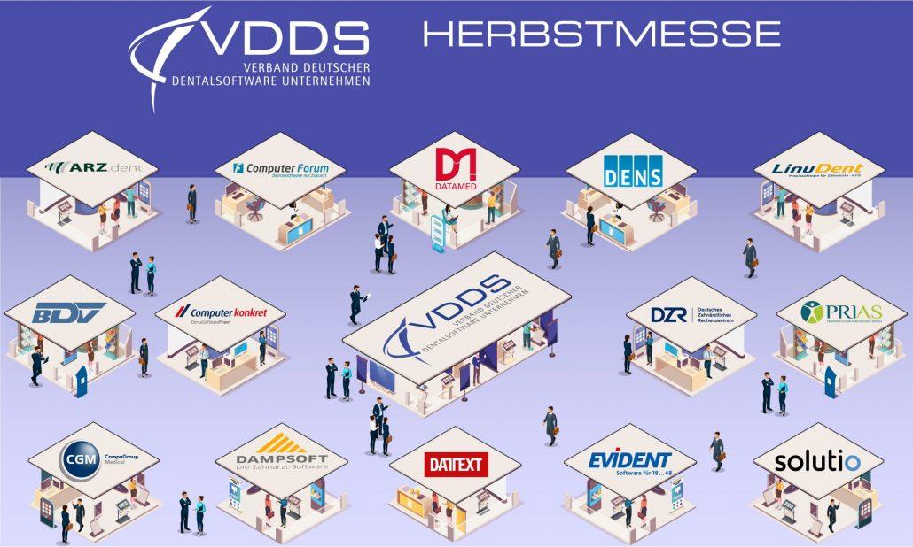 Die Mitgliedsunternehmen des VDDS begrüßen das Konzept der Herbstmesse 2021 und nehmen mit einem Stand und Beiträgen teil.