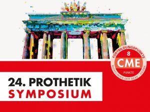 Das 24. Prothetik Symposium findet statt als Hybridveranstaltung am 27.11.2021 in Berlin und als online Live Übertragung.